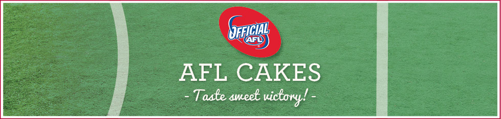 AFL Birthday Cakes