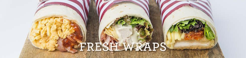 Fresh Wraps & Rolls