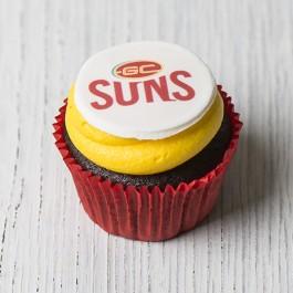 Gold Coast Suns Cupcakes | Tuggl