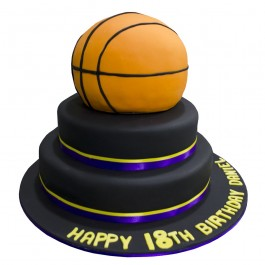 Basketball Birthday Cake | Tuggl