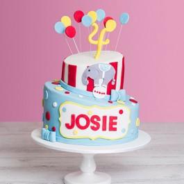 Circus Birthday Cake | Tuggl