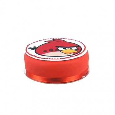 Angry Birds Red Bird mud cake - Small