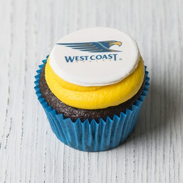 West Coast Eagles Cupcakes