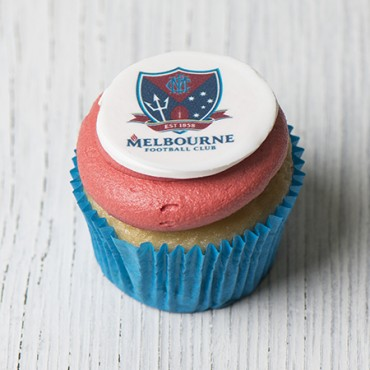 Melbourne Demons Cupcakes