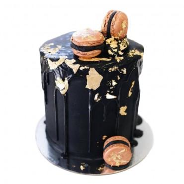 Black Hole Drip Cake
