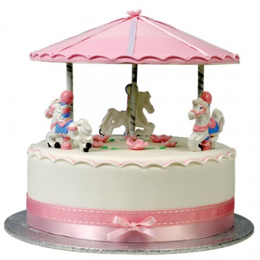 Carousel Birthday Cak
