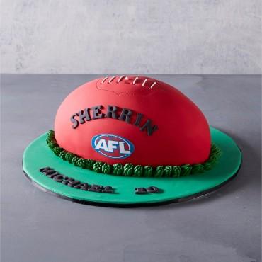 AFL Footy Cake