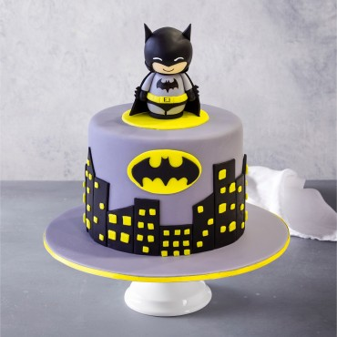 Batmania Custom Birthday Cake