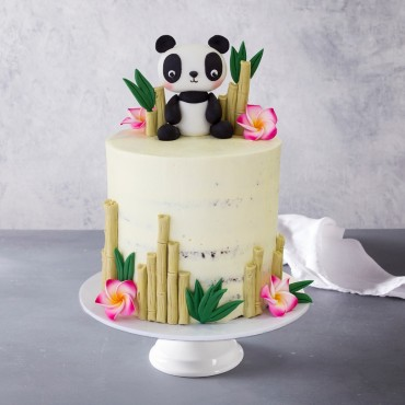 Panda Bear Birthday Cake