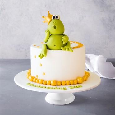 King Kermit the Frog Birthday Cake