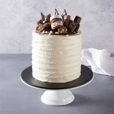 Chocolate & Vanilla Buttercream Celebration Cake