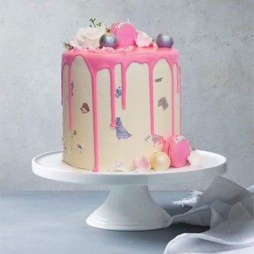 Pink Drip Celebration Cake