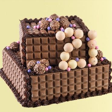 Chocoholic Birthday Cake