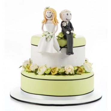Citrus Scent Wedding Cake