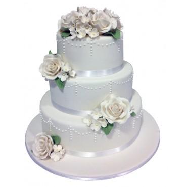 Classic Dream Wedding Cake