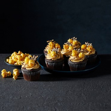 Father's Day - Cupcake - Choc Caramel