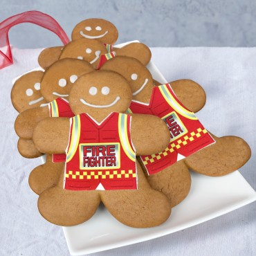 Firefighter Gingerbread - Supporting the Bushfire Relief Appeal