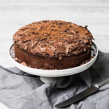 Chocolate Truffle Cake (Flourless)