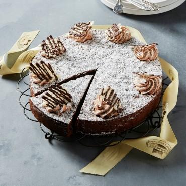 Large Flourless Chocolate Cake