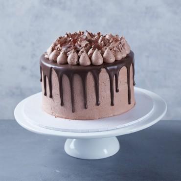 Flourless Chocolate Drip Cake