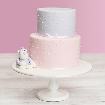 Studded Monkey Birthday Cake