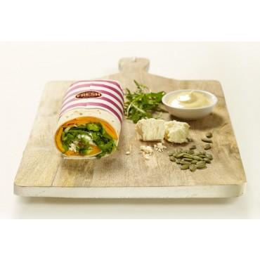 Gourmet Vegetable Wrap