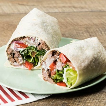 Lamb Souvlaki Wrap - The Souva