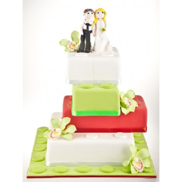 Lego Love Wedding Cake