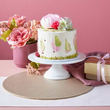 Mother's Day Beautiful Buttercream Cake - Mud