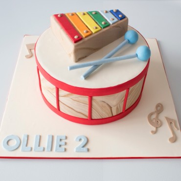 Musical Celebration Cake