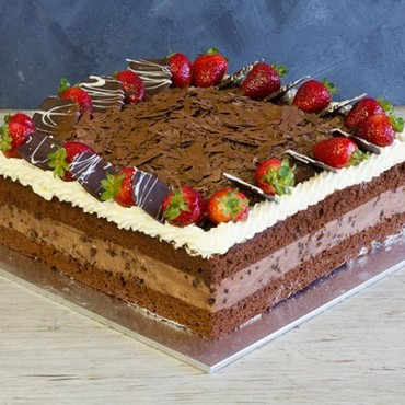 Chocolate Mousse Cake 8.5""