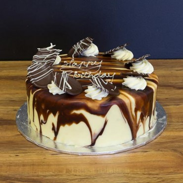 Marble Mud Cake