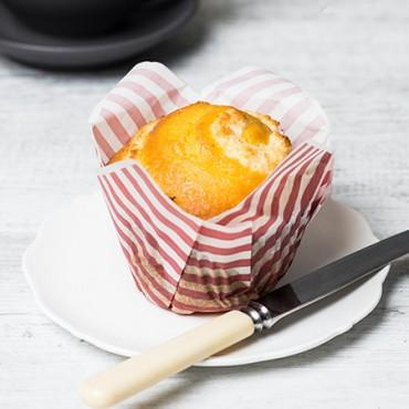 Orange Rough Muffin