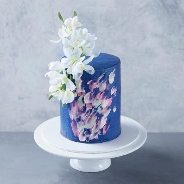 Pink & Blue Palette Cake