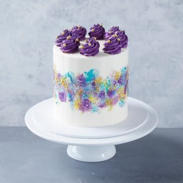Purple Palette Cake