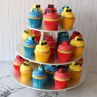 Racing Car Cupcake Cake