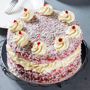 Raspberry Lamington Sponge