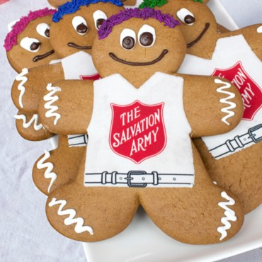 Salvation Army Gingerbread Man