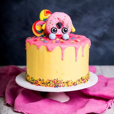 Shopkins Drip Cake