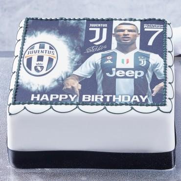 Soccer Photo Cake