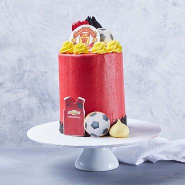 Soccer Custom Cake