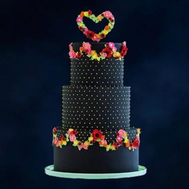 Black Diamond Celebration Cake