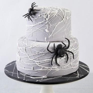 Spiders Web Cake