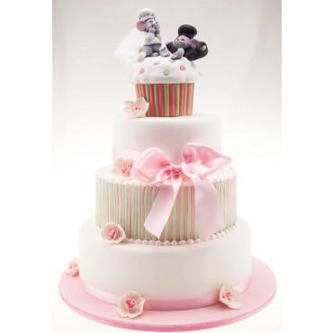 Squeaky Love Wedding Cake