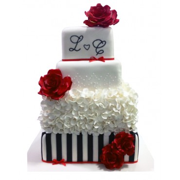 The Love Gift Wedding Cake