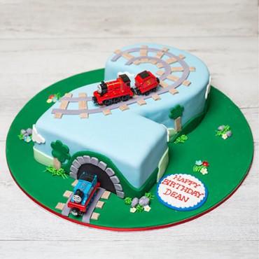 Thomas & Friends Birthday Cake