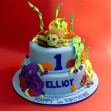 Under the Sea Custom Cake