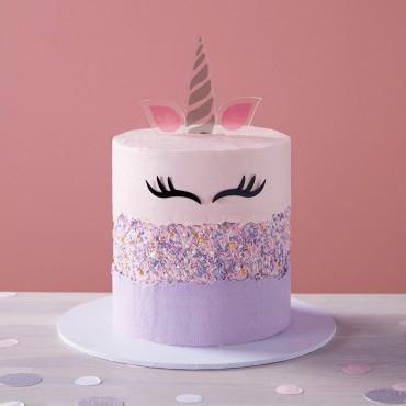Unicorn Fault Line Cake