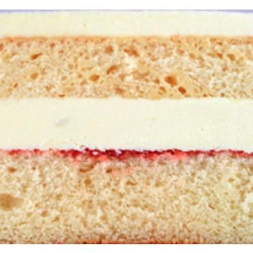 Vanilla Sponge w Fresh Cream