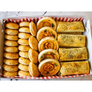 Vegetarian Party Savouries Catering Pack